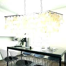 capiz shell chandelier west elm chandelier rectangular home interior pictures vintage