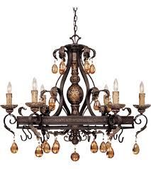 savoy house tracy porter eldora 6 light pot rack in como black w gold 1 1815 6 62