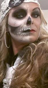 make up skeleton pirate female pirate makeup how