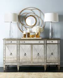 mirrored furniture decor. Amelie Mirrored Buffet Furniture Decor