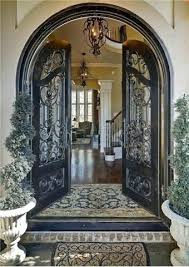 wrought iron exterior doors. Wrought Iron Entry Door Elegant Glass And Doors Exterior Handles .