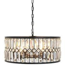 iron and crystal drum chandelier regarding plans 9 intended for popular house drum chandelier with crystals plan