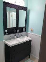 narrow double vanity.  Vanity Exceptional Narrow Double Sink Vanity 39 Awesome Ikea Bathroom On A
