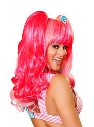 Image result for pink wigs