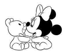Small Picture Mickey And Minnie Disney Halloween Coloring Page zelf
