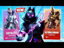 Fortnite Skin Chart New Season 10 Level 50 Skins Unlock Fortnite Season X New Update