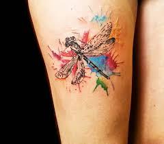 Dragonfly Tattoo By Ilaria Tattoo Art Photo 20667