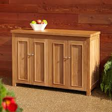 teak cabinet outdoor luxury kitchen cabinets ideas storage w