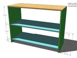 make your own office desk. build your own office wide bookcase base make desk