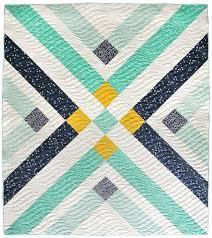 81 best Modern Quilt Patterns images on Pinterest   Modern quilt ... & Retro Plaid Quilt Pattern Adamdwight.com