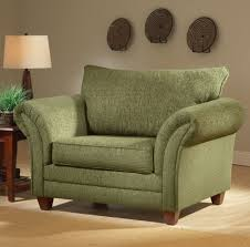Overstuffed Living Room Furniture Forest Green Fabric Modern Living Room Sofa Loveseat Set