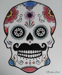 Mexican Skull Tattoo By Senia Arts On Deviantart