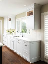 Small Picture Cabinets Drawer White Contemporary Kitchen Flat Cabinets