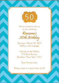 Sample Party Invite 45 50th Birthday Invitation Templates Free Sample Example