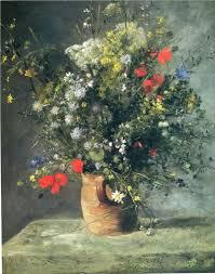 flowers in a vase pierre auguste renoir 1866 national gallery of art