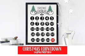 Gift present christmas box comments. Christmas Countdown Calendar Svg Graphic By Mockup Venue Creative Fabrica