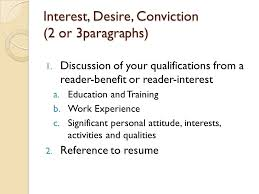 Work Experience Cover Letter Writing A Cover Letter Job Application Letter Ppt Video Online
