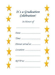 Free Printable Graduation Party Invitations Templates All Together