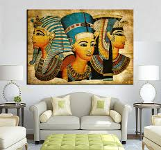 large wall art canvas pharaoh of egyptian home decoration paintings modern abstract wall painting wall picture