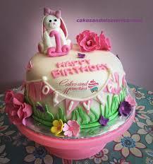 Cute Bunny Fondant Cake Ga3 Cakes And Memories