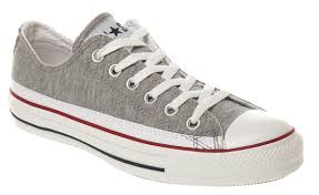 converse shoes grey. image is loading converse-all-star-ox-low-grey-marl-white- converse shoes grey