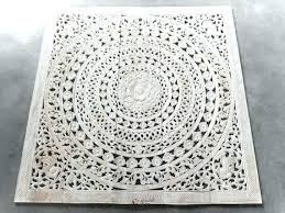 wood medallion wall art white wood wall art tile wall art white wash bed headboard carved