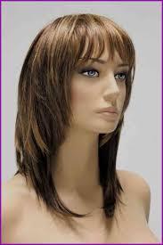 Coupe Femme Mi Long Avec Frange Cheveux Long