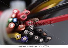 wires and cables stock images royalty images vectors computer cables on white background