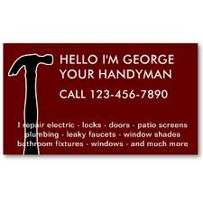 handyman business simple handyman business cards business card design ideas