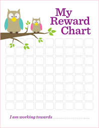 Downloadable Reward Charts Useful For Parents Over The