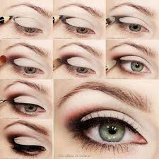 in this post we are showing you the eye makeup step by step photos and ideas