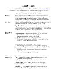 Cook Resume Template Elegant Resume Samples Server Resumesline
