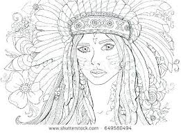 Indian Girl Coloring Page Girl Coloring Page Download Coloring Pages