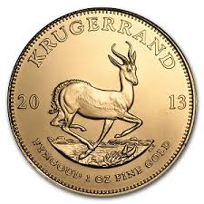 South African Krugerrand Gold Price Oz