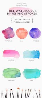 free watercolor brushes illustrator 52 best free watercolor brush strokes images on pinterest colors