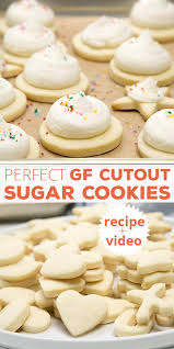 soft cut out sugar cookie recipe.  Soft These Soft Gluten Free Cutout Sugar Cookies With A Meringuetype Frosting  Are In Inside Soft Cut Out Sugar Cookie Recipe