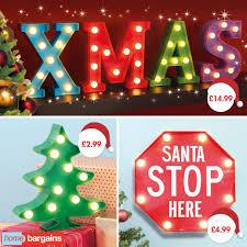Home Bargains Christmas Lights