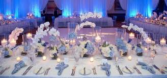 For a pop of color, consider a crisp, silvery shade of blue for a beautiful  winter color scheme.