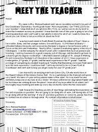 Parent Teacher Introduction Letter Sample Student To Parents