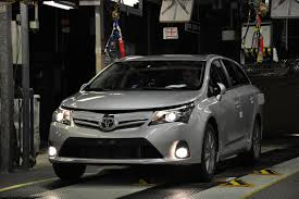 toyota new car release 2012Toyota Begins Production of 2012 Avensis Releases UK Pricing