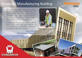 g f tomlinson linkedin manufacturing building helped steven return to construction and he is now working for kpr joinery to finish the scout hut on site providing local jobs