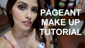 pageant make up tutorial ft philippine professional make up artist you