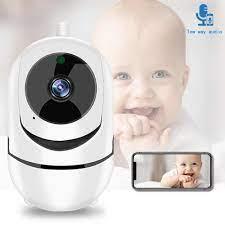 Trẻ Em WiFi Tiếng Kêu Báo Động Camera IP WiFi Video Bảo Mẫu Cam Cho Bé  Camera Quan Sát Ban Đêm Không Dây Giám Sát Video Camera Quan Sát 2MP|Baby  Monitors