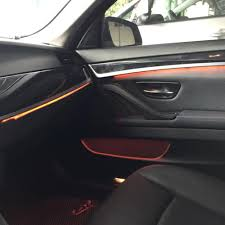 Bmw F10 Ambient Interior Lighting 3 Colors Car Accesories Led Strip Interior Decorative Door
