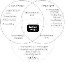 Drugs Venn Diagram The Interrelated Topics In Drug Design And Discovery
