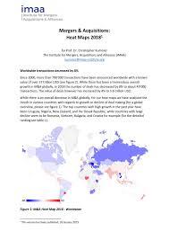 M A Statistics Worldwide Regions Industries Countries