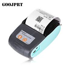 <b>GOOJPRT PT</b> - 210 58MM Mini Bluetooth Thermal Printer