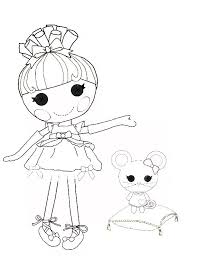 Small Picture Lalaloopsy Coloring Pages ngbasiccom