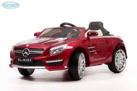 <b>Электромобиль BARTY Mercedes SL63</b> AMG на резиновых колесах