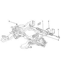 Gear power steering rack pinion for 2003 dodge durango rh moparpartsgiant 2003 dodge durango vacuum diagram 2000 dodge durango engine diagram